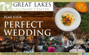 Great Lakes Culinary Center Ad in Detroit Wedding Day