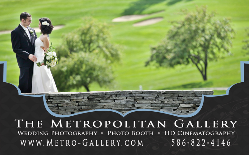 The Metropolitan Gallery Ad in Detroit Wedding Day