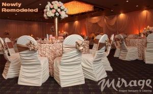 THE MIRAGE ELEGANT BANQUETS & CATERING AD IN DETROIT WEDDING DAY