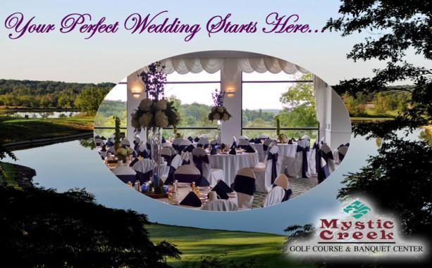 Mystic Creek ad in Detroit Wedding Day