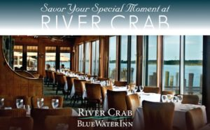 RIVER CRAB RESTAURANT AD IN DETROIT WEDDING DAY