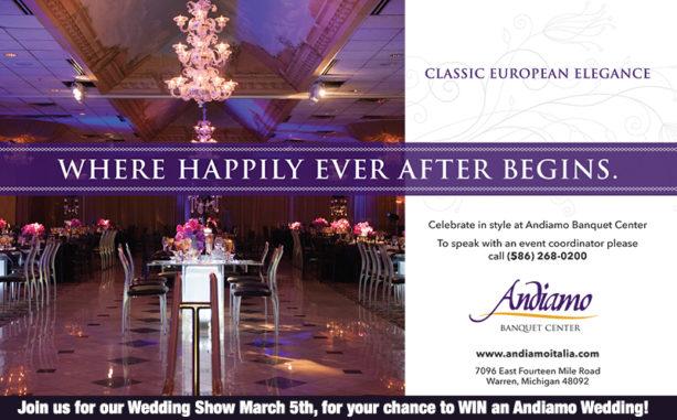 ANDIAMO – WARREN AD IN DETROIT WEDDING DAY